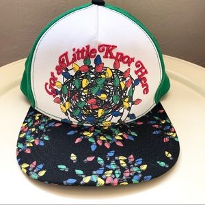 National Lampoon's Christmas Lights Snapback Cap